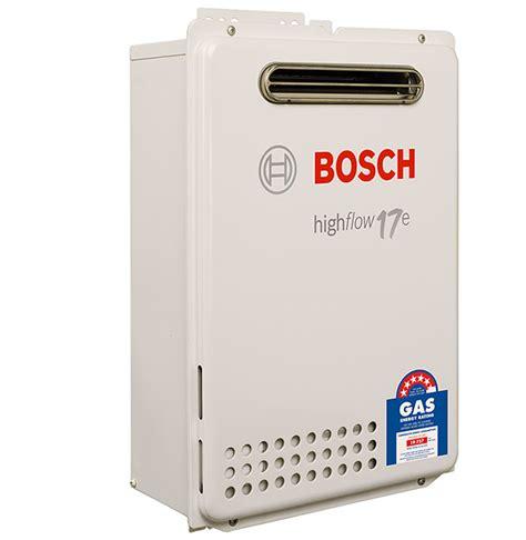 Bosch 17e  Sa Hot Water
