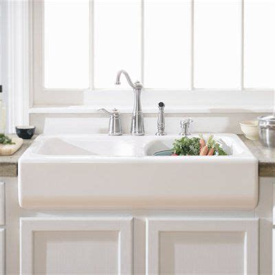drop in farmhouse kitchen sinks drop in style apron sink 299 34 quot x 23 quot x 10 quot atg stores 8834