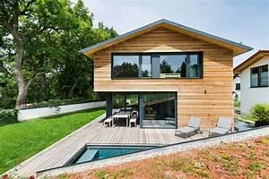 Haus Aus Holz : interieur aus holz und beton gem tliches haus in bayern ~ Buech-reservation.com Haus und Dekorationen