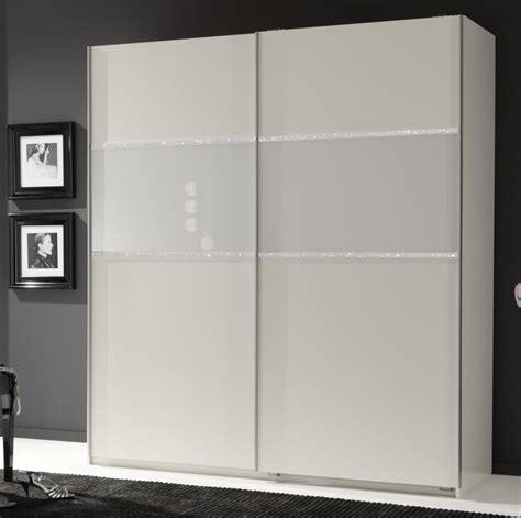 promo cuisines armoire 2 portes coulissantes blitz blanc l 135 x h 198 x p 64
