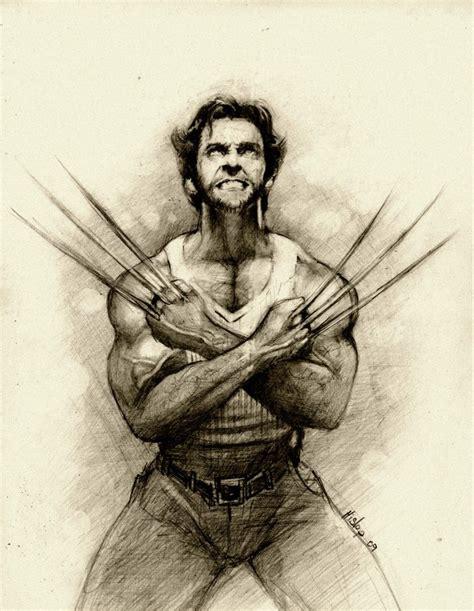 Wolverine Sketch By Qbeno On Deviantart