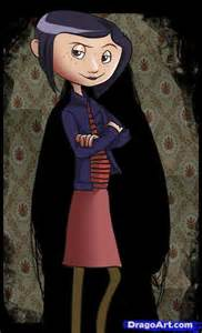 Coraline Characters Drawings