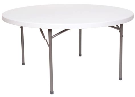 """Round Folding Table, 60"""" White Plastic  Area Rental & Sales. Oscillating Table Fan. Nesting Tables. Campaign Style Drawer Pulls. Burl Wood Desk. Computer Desk With Chair. Road Runner Help Desk. Air Hockey Ping Pong Table. Desk Market Research"""