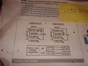similiar ao smith fan motor wiring diagram keywords wiring replacement condenser fan motor wiring diagram pic