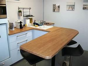 plan de travail cuisine ikea art39ebenart39eben With plan de travail arrondi cuisine