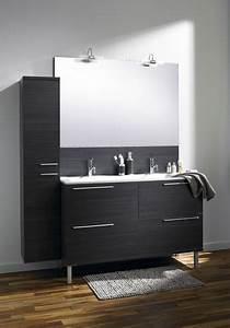 stunning meuble salle de bain wenge leroy merlin images With meuble lavabo pour petite salle de bain