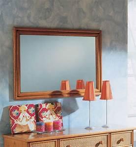 Miroir Rotin Noir : miroir rectangulaire en rotin brin d 39 ouest ~ Melissatoandfro.com Idées de Décoration