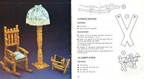 chaise en epingle a linge en bois chaise à bascule les créations d 39 hélène