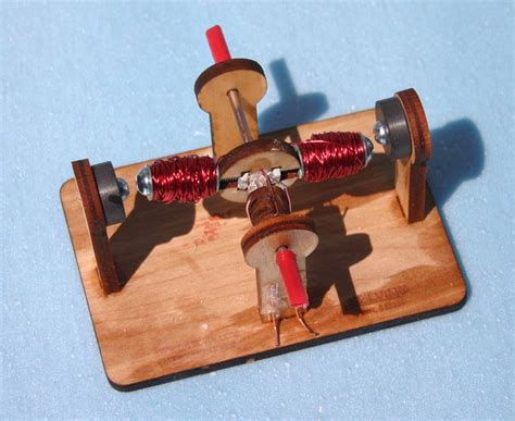 Build An Electric Motor by Scienceguyorg Ramblings Building 2 Pole Electric Motor Kit