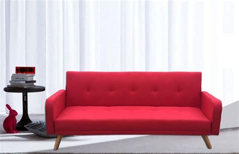 Divano Letto Rodrigo 210x82x88 Microfibra Ecopelle Bianco