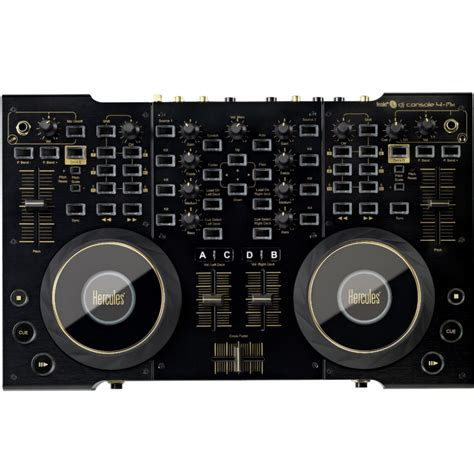 hercules dj console 4 mix hercules dj console 4 mx noir top achat