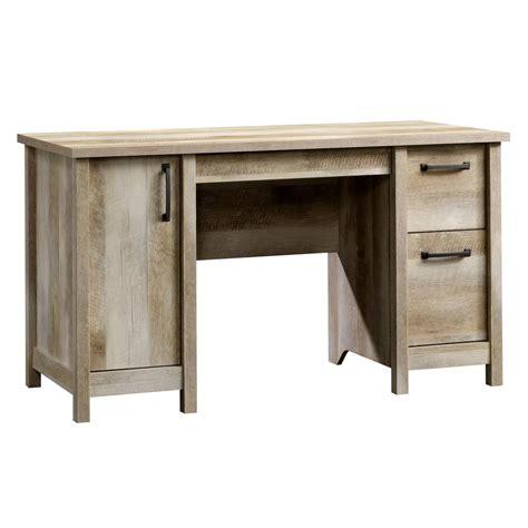 home depot computer desk sauder beginnings cinnamon cherry desk with storage 408726
