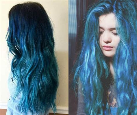 Sea And Sky Blue Hair Color 2017 You Will Adore Pretty