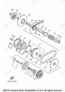 Yamaha Side By Side 2008 Oem Parts Diagram For Clutch