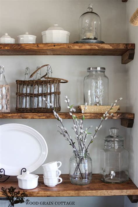 small bathroom storage ideas styled dining room shelving the wood grain cottage
