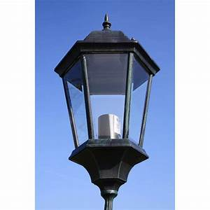 Lampadaire Exterieur Pas Cher : acheter lampadaire ext rieur triple 230 cm vert fonc noir ~ Melissatoandfro.com Idées de Décoration