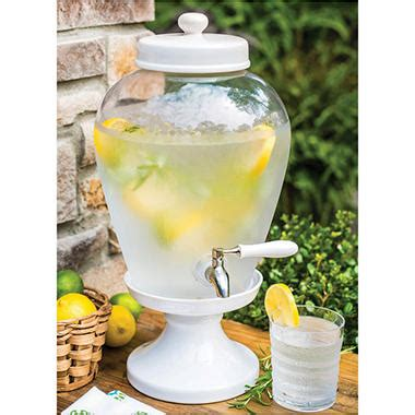 ceramic pedestal beverage dispenser  gal sams club