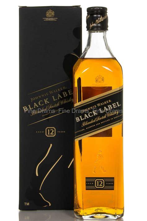 label walker johnnie whisky blended