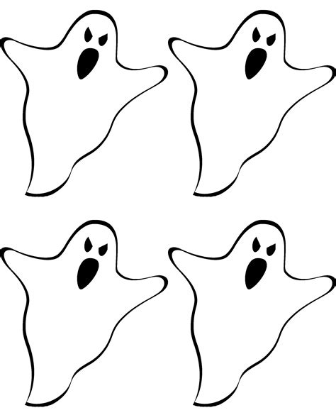 Ghost Template Free Printable Ghost Banner Liz On Call