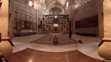 360 video: Inside Church of the Holy Sepulchre Jerusalem