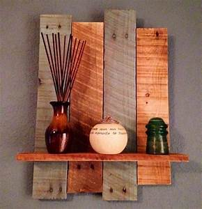 Planche De Bois Brut Pas Cher : meuble de cuisine en bois pas cher 1 etagere en palette ~ Dailycaller-alerts.com Idées de Décoration