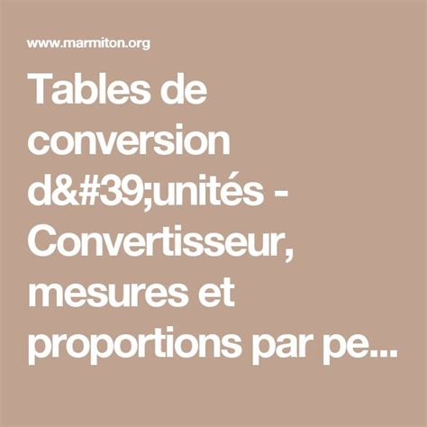 table de conversion cuisine 17 meilleures idées à propos de conversions de mesures de