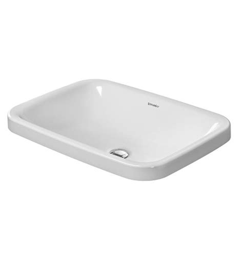 duravit vero basin 600 duravit durastyle 600 x 430mm vanity basin 0372600000