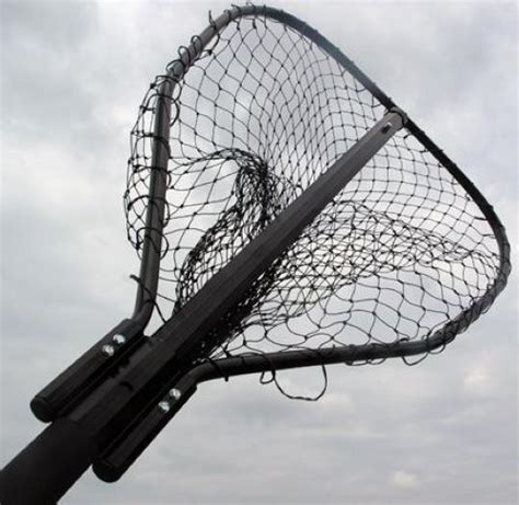 Large Boat Landing Net by Catfish Salmon Premium Large Landing Net 24 5 X 20 With