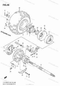 Suzuki Atv 2006 Oem Parts Diagram For Right Rear Wheel
