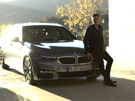 bmw commercial new bmw 5 series commercial features actor scott eastwood