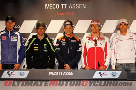 assen motogp pre race conference ultimate