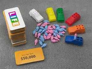 Life Game Pieces