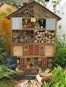 Abri à Insectes : photo l 39 h tel des insectes ~ Premium-room.com Idées de Décoration