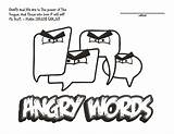 Coloring Tongue Angry Words Taming Sketchite Template Credit Larger Lesson sketch template