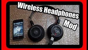 Bluetooth Wireless Headphones Mod - Grado Sr80i