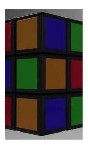 Animation 3D Rubik's cube - YouTube