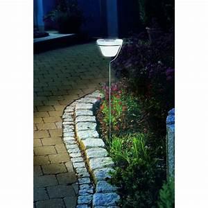 Lampe De Jardin : lampe de jardin solaire sur lampes solaires dcoratives eclairage solaire ~ Teatrodelosmanantiales.com Idées de Décoration