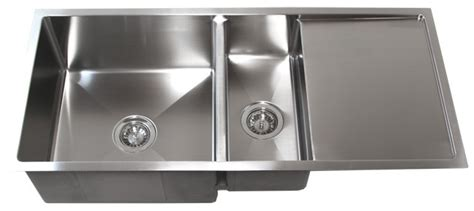 stainless steel kitchen sink with drainboard design 42 inch stainless steel undermount bowl kitchen