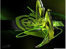 3D Graffiti Nvidia 4K HD Desktop Wallpaper for 4K Ultra HD