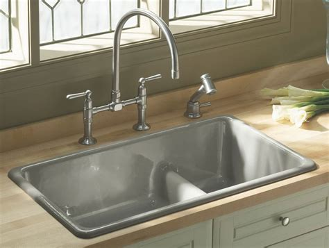 Best Material For Kitchen Sink Uk by Kitchen Sink Types Decosee