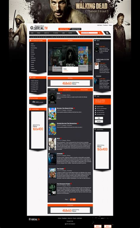 the series and movide site template original template datalife engine english v10 0 serialtv