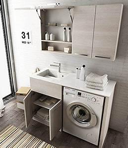 Waschmaschine 50 Cm : bildergebnis f r waschtisch 50 cm neben waschmaschine kleine b der in 2019 pinterest ~ Eleganceandgraceweddings.com Haus und Dekorationen