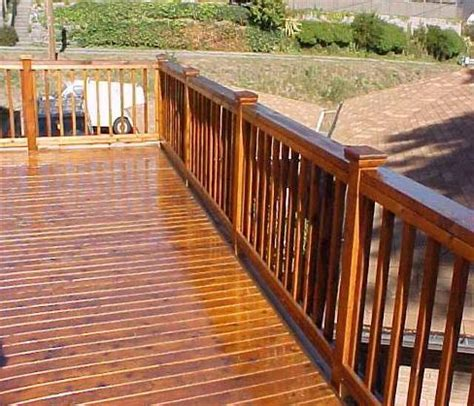 deck cleaning   prepare  deck  staining diy