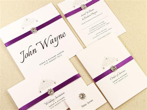 Easy Wedding Invitation Ideas