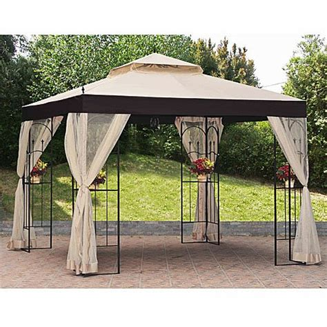 garden winds gazebo garden winds replacement canopy and netting for the athena