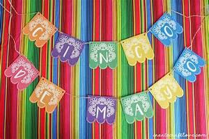 Cinco de Mayo Printable Banner - Create Craft Love