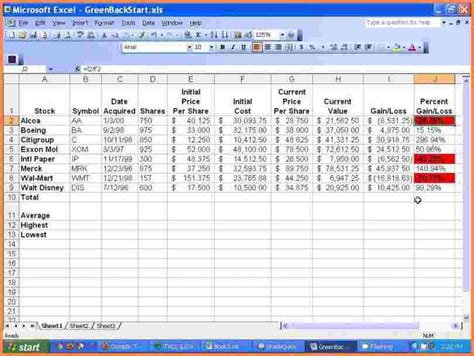 5 basic excel spreadsheet excel spreadsheets