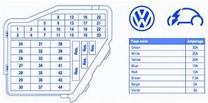Vw New Beetle 2004 Main Fuse Box  Block Circuit Breaker