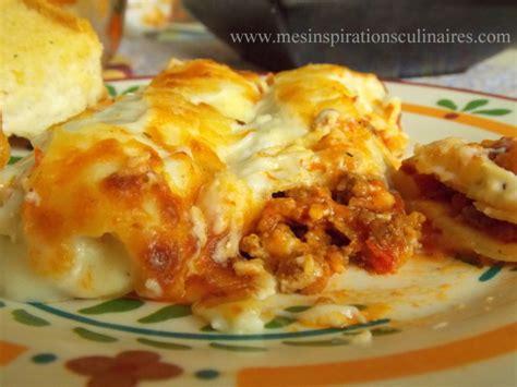 cuisine italienne cannelloni cannelloni à la viande hachée le cuisine de samar