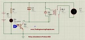 How To Control Relay In Proteus Isis